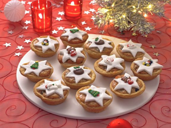 Englische Weihnachtsküchlein (Mince Pies)