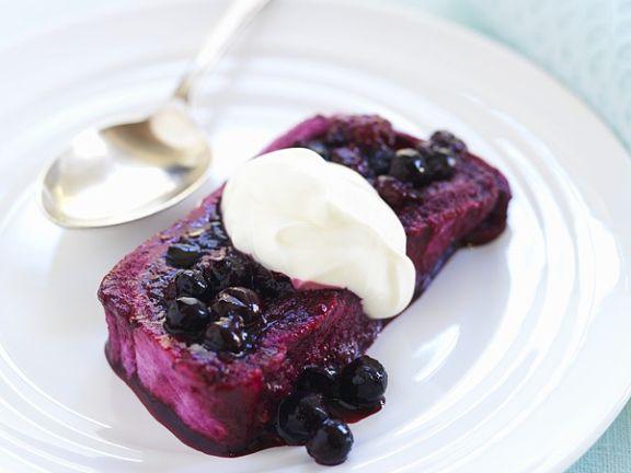 Englischer Beeren-Pudding