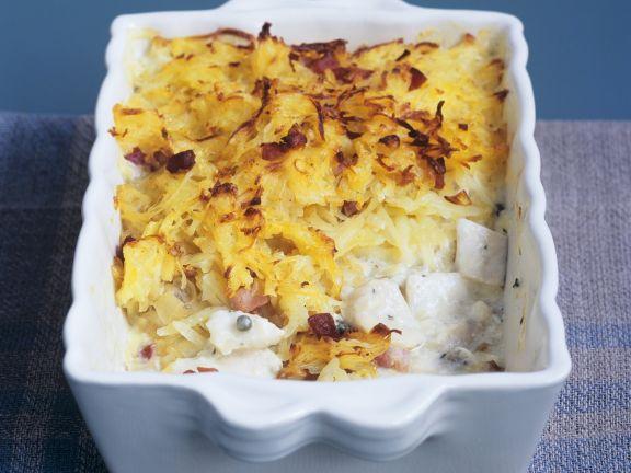 Englischer Fisch-Kartoffel-Auflauf