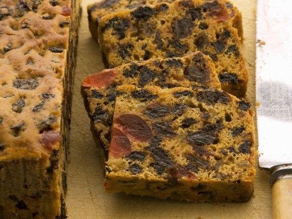 Englischer Teekuchen (Früchtekuchen)
