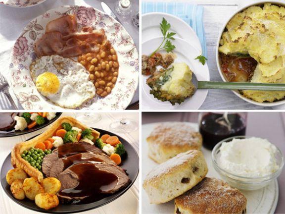 Englisches Essen: Lecker oder fettig?