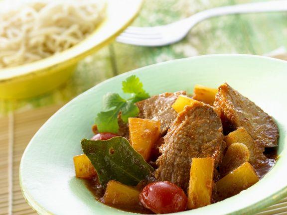 Entenbrust-Curry