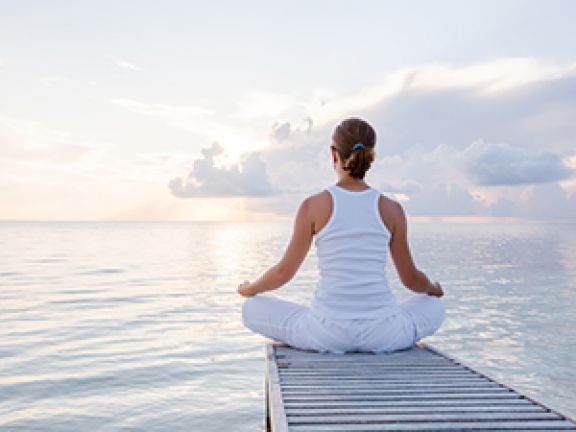 Entspannung hilft dabei, Stress abzubauen.