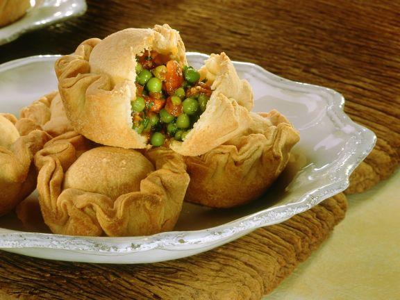 Erbsen-Empanadas