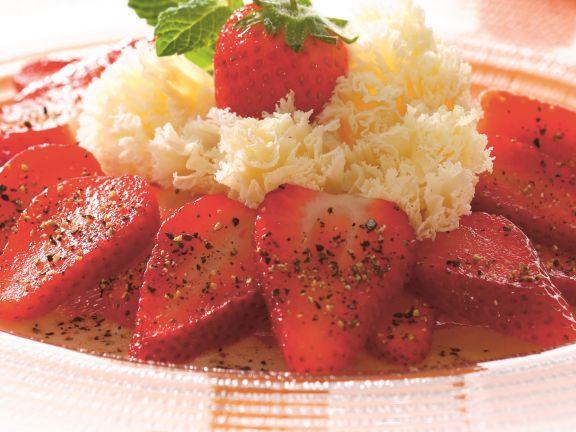 Erdbeer-Carpaccio