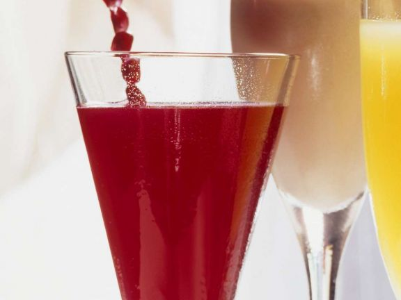 Erdbeer-Grenadine-Drink