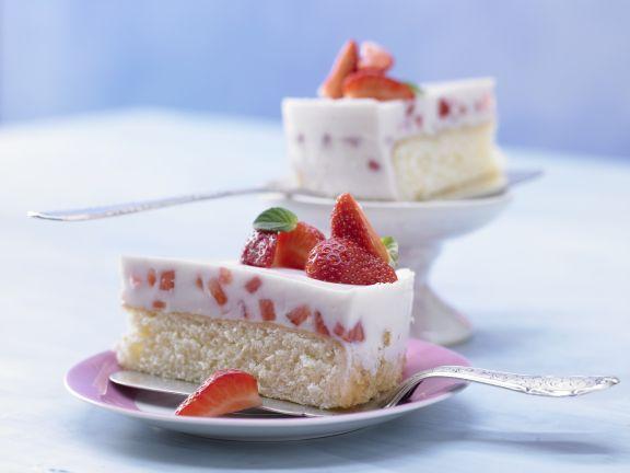 Erdbeer Joghurt Torte Rezept Eat Smarter