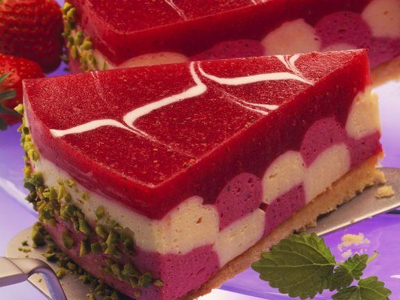 Erdbeer-Joghurtmouss-Torte