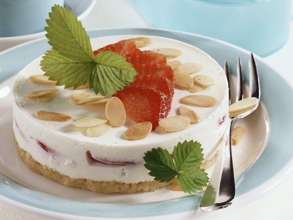 Erdbeer-Joghurttorte