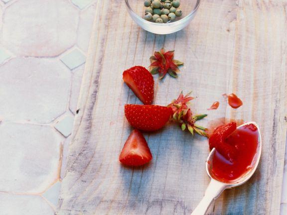 Erdbeer-Pfeffer-Marmelade
