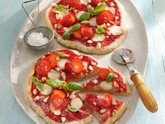 Erdbeer-Pizzette