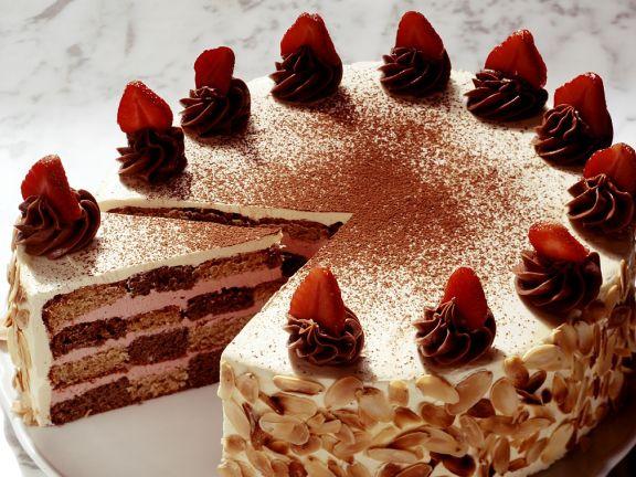 Erdbeer Schokoladen Torte Rezept Eat Smarter