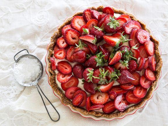 Erdbeer-Tarte mit Vanillecreme