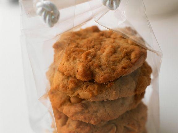 Erdnuss-Cookies