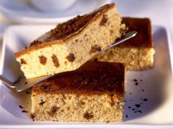 Espresso-Blechkuchen