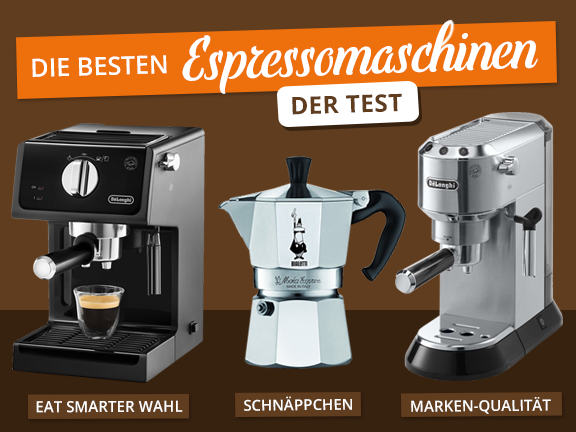 Espressomaschinen - Übersicht