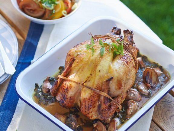 Estragon-Hähnchen vom Grill