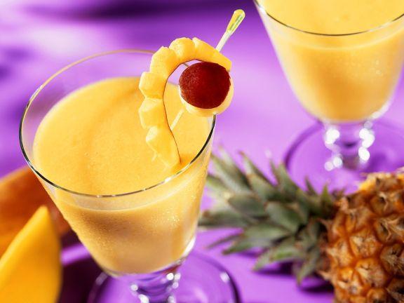 Exotischer Frucht-Cocktail