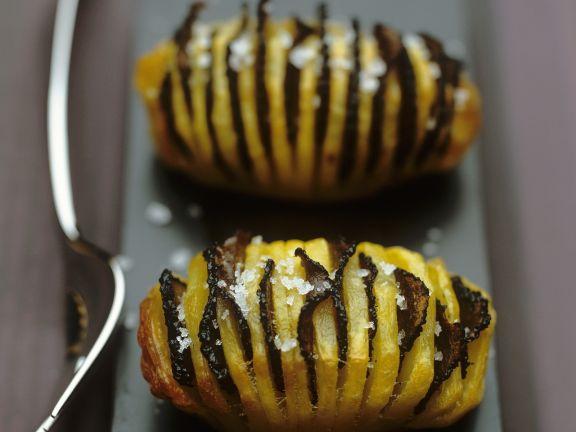 Fächerkartoffeln mit Trüffel