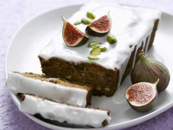 Feigen-Pistazien-Kuchen