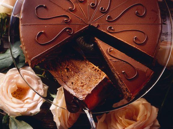 Feine Schokoladentorte