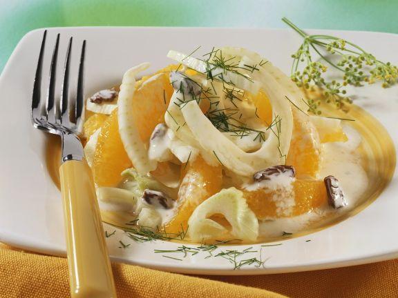 Fenchelsalat mit Orangen
