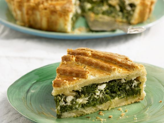 Feta-Spinat-Quiche