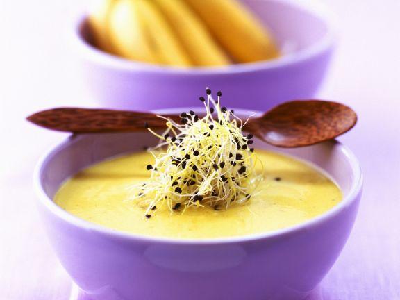 Feurige Bananensuppe aus der Karibik