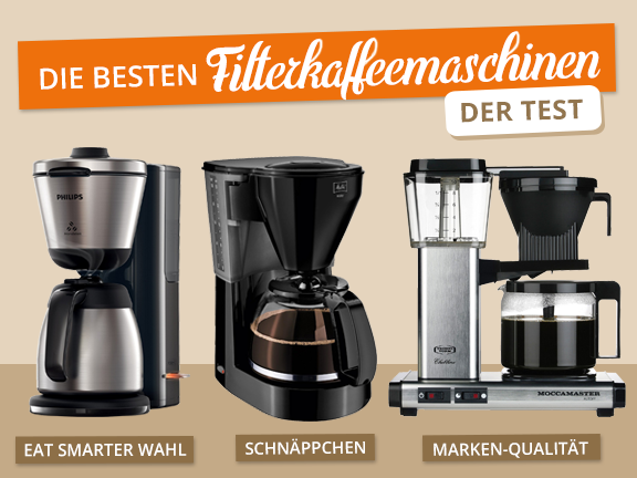 Filterkaffeemaschinen - Test Übersicht