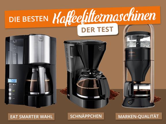 Kaffeefiltermaschinen - Übersicht