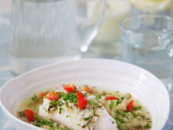 Fisch-Bulgur-Suppe