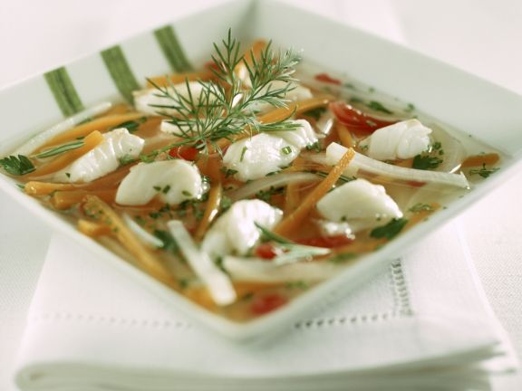 Fisch-Gemüse-Suppe