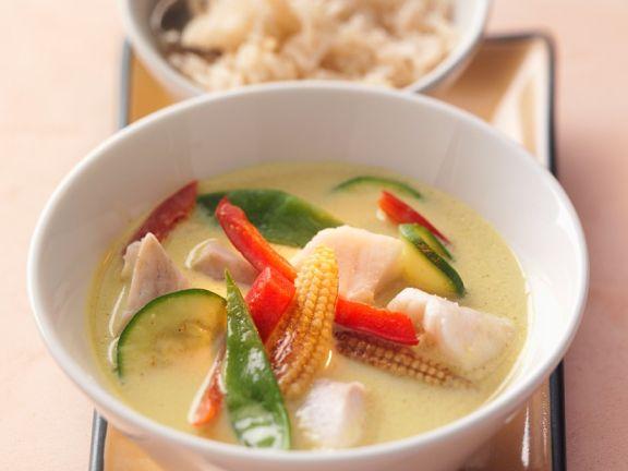Fisch-Gemüsecurry