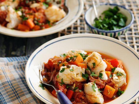 Fisch-Gemüsetopf