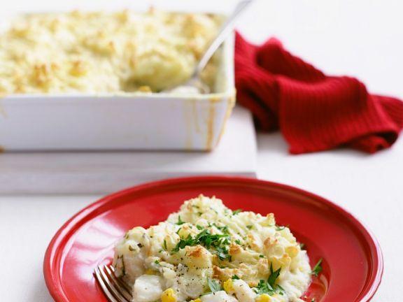 Rezept auflauf fisch kartoffel