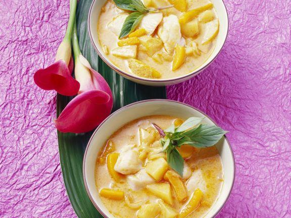 Fisch-Kürbis-Curry mit Kartoffeln