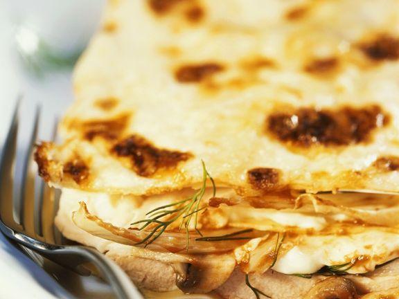 Fisch-Lasagne