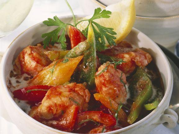 Fisch-Paprika-Topf