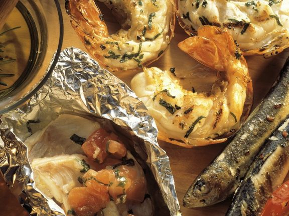 Fisch Und Garnelen Vom Grill Rezept Eat Smarter