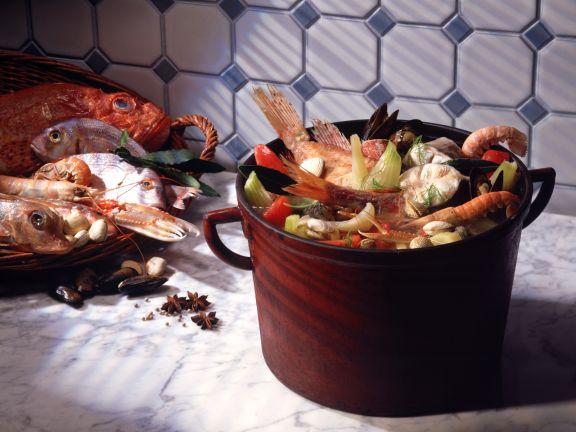Fischsuppe (Bouillabaisse)