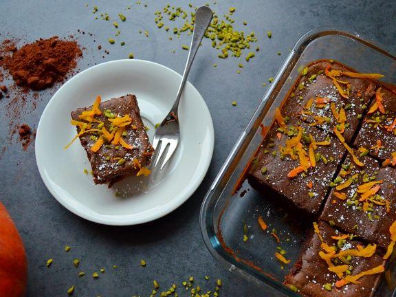 Fitmelonies Kürbis-Brownies