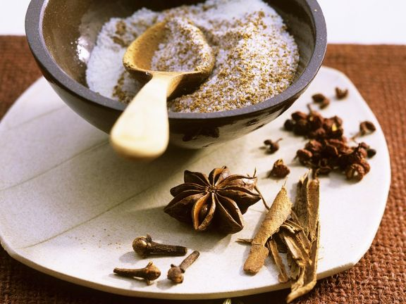 Five-Spice-Salz aus Asien