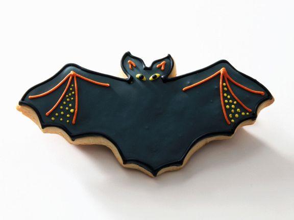 Fledermauskeks zu Halloween