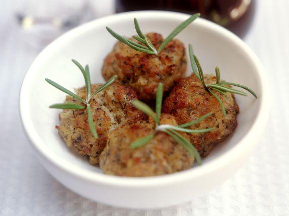 Fleischbällchen mit Kräutern