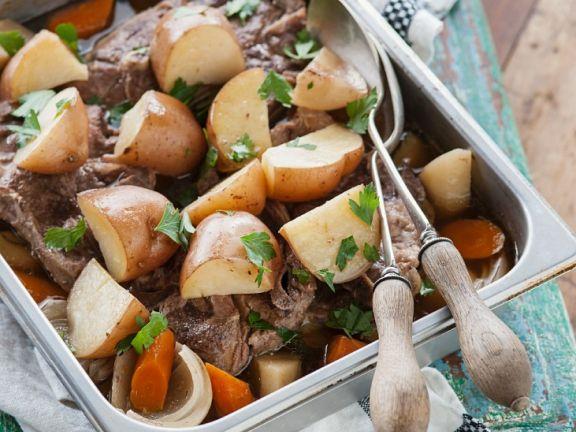 Fleischeintopf auf irische Art (Irish Stew)