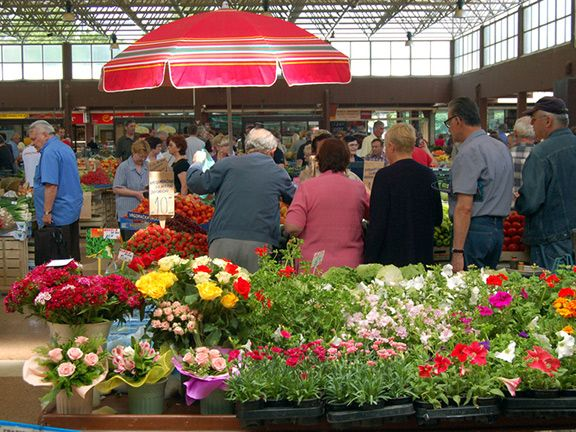 10. Food Market in Hamburg