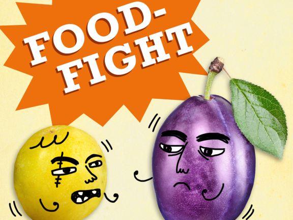 Food Fight: Mirabelle vs. Pflaume