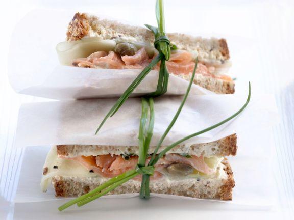 Forellen-Sandwich