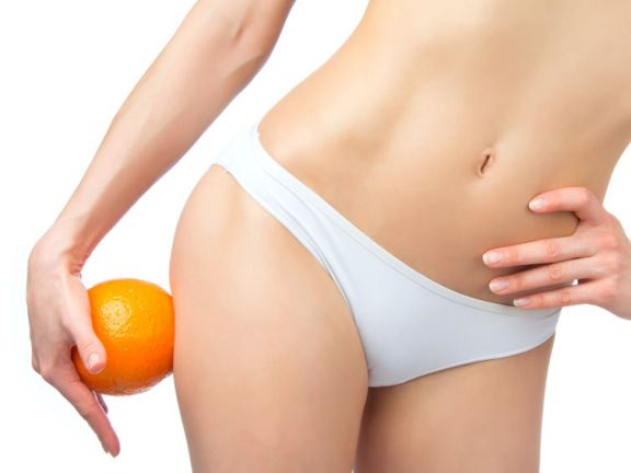 Gegen Cellulite helfen einige Lebensmittel