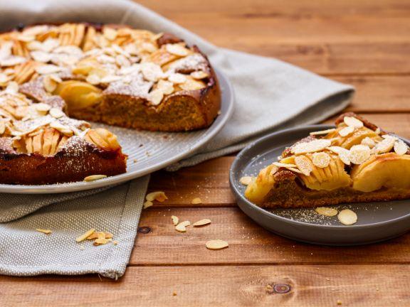 Französischer Apfelkuchen aus der Bretagne